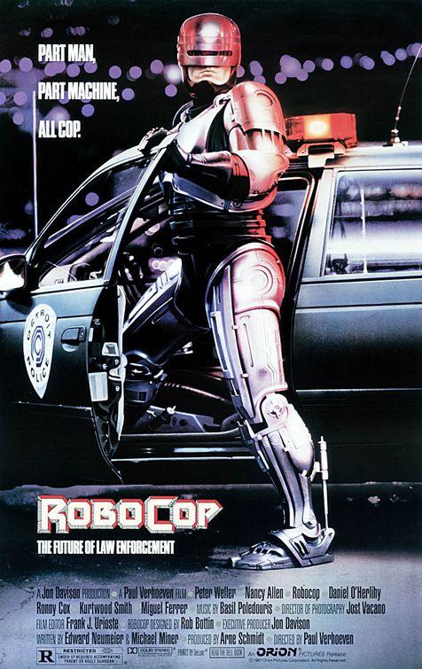 Robocop, O Policial do Futuro Dublado 1987