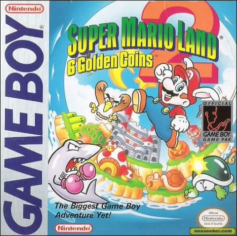 SUPER MARIO LAND (Game Boy, 1989)