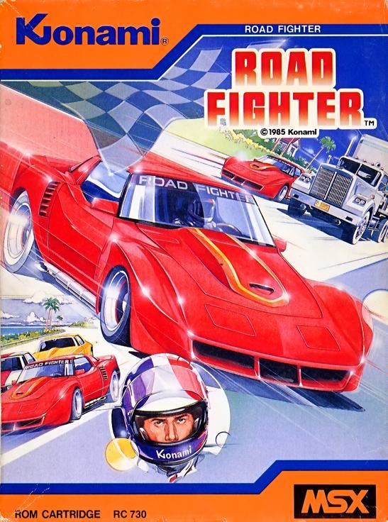 Resultado de imagen de road fighter msx