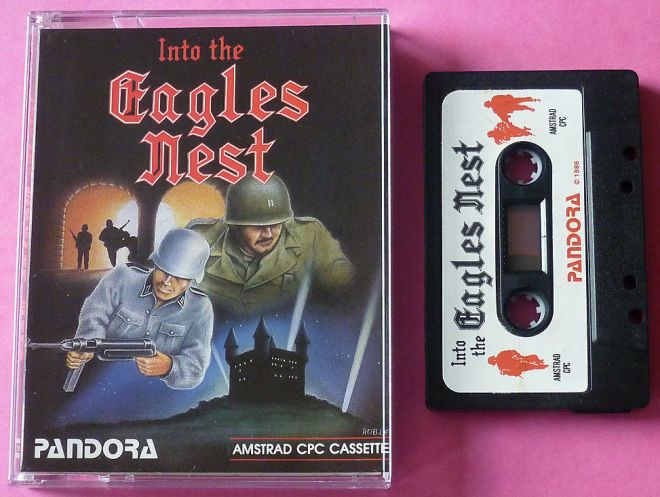 Into the Eagles Nest (Amstrad CPC)